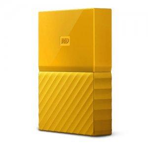 """Външен твърд диск Western Digital My Passport Thin 2TB, 2.5"""", USB3.0, Yellow (снимка 3)"""