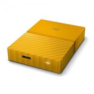 """Външен твърд диск Western Digital My Passport Thin 2TB, 2.5"""", USB3.0, Yellow (снимка 4)"""