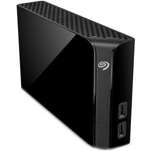 """Външен твърд диск Seagate Backup Plus Hub 10TB, 3.5"""", USB3.0, Black (снимка 1)"""