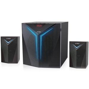 Тонколони за компютър Fenda F&D F560X, 2x14W+28W, Black (снимка 1)