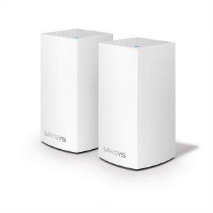 Безжичен рутер Linksys WHW0102, AC2600 Velop Junior Mesh, 2 устройства (снимка 1)