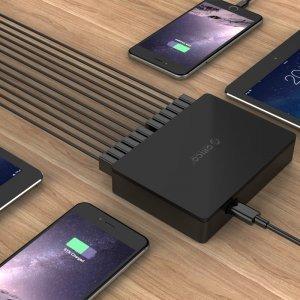 Зарядно устройство Orico DUB-12P-BK, 12 Port, 100W, 220V (снимка 3)