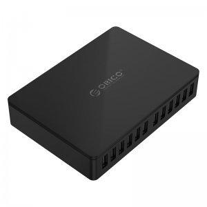 Зарядно устройство Orico DUB-12P-BK, 12 Port, 100W, 220V (снимка 5)