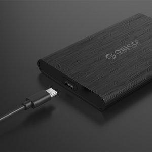 """Кутия за диск Orico 2189C3-BK, 2.5"""" SATA to USB Type-C, Black (снимка 5)"""