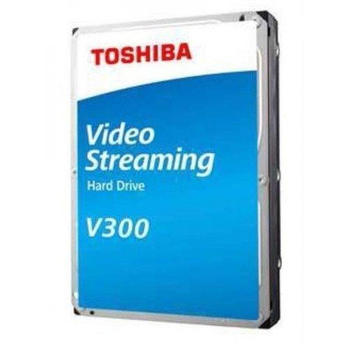 Твърд диск Toshiba 2TB, V300 HDWU120UZSVA, SATA3, 7200rpm, Bulk (снимка 1)