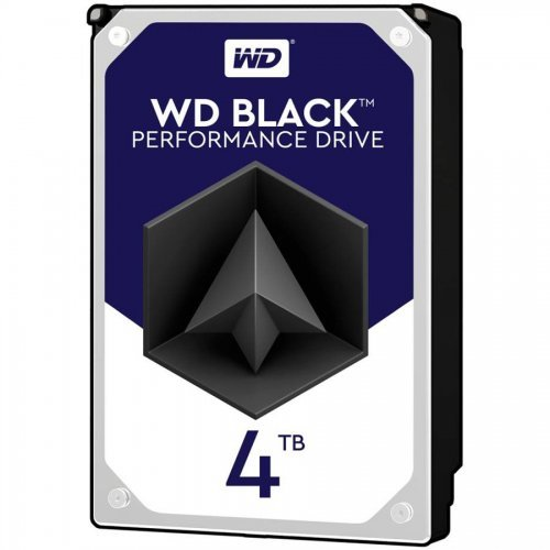 Твърд диск Western Digital 4TB, Black 3.5, WD4005FZBX, SATA3, 256MB, 7200rpm (снимка 1)