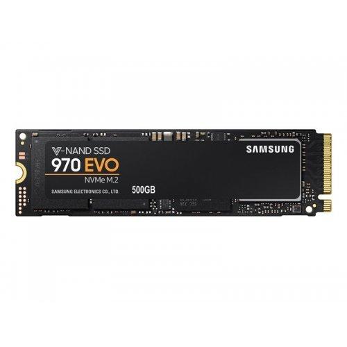 SSD Samsung 500GB, 970 EVO, PCI Express 3 x4, NVMe 1.3, M.2 2280, MZ-V7E500BW (снимка 1)