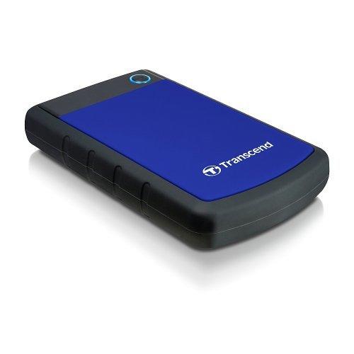 """Външен твърд диск Transcend StoreJet 25H3, 4TB, 2.5"""", USB3.0, TS4TSJ25H3B (снимка 1)"""