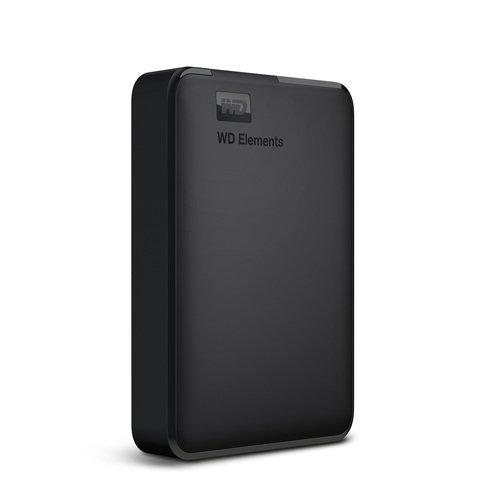 """Външен твърд диск Western Digital Elements, 4TB, 2.5"""", USB3.0, WDBU6Y0040BBK (снимка 1)"""