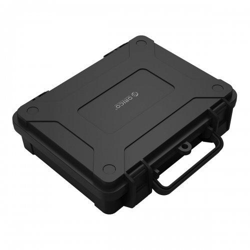 """Кутия за диск Orico PHF-35-BK, Защитно куфарче за 3.5"""" твърди дискове (снимка 1)"""