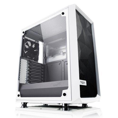 Компютърна кутия Fractal Design Meshify C, Window, White (снимка 1)