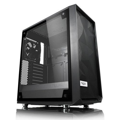 Компютърна кутия Fractal Design Meshify C, Window, Black (снимка 1)