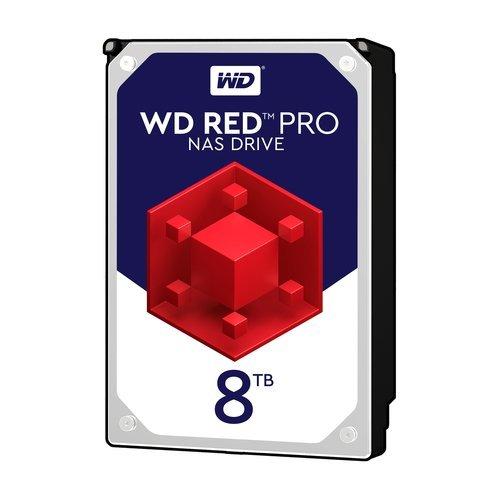 Твърд диск Western Digital 8TB, Red PRO 3.5, WD8003FFBX, SATA3, 256MB, 7200rpm (снимка 1)