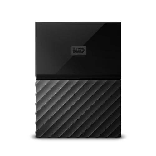 """Външен твърд диск Western Digital My Passport Thin 2TB, 2.5"""", USB3.0, Black (снимка 1)"""