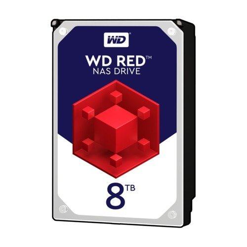 Твърд диск Western Digital 8TB, Red 3.5, WD80EFAX, SATA3, 256MB, 5400rpm (снимка 1)