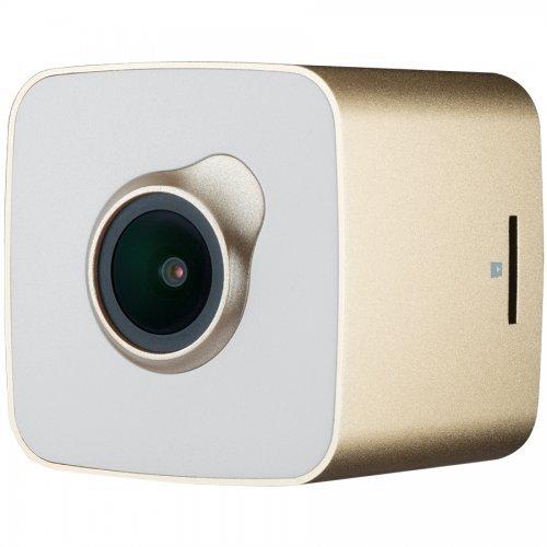 Видеорегистратор Prestigio RoadRunner Cube, Gold/White (снимка 1)