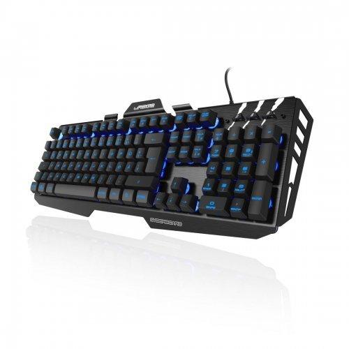 Клавиатура Hama Urage Cyberboard, USB, RGB, Геймърска метална клавиатура, 113755 (снимка 1)