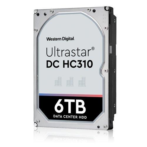 Твърд диск Western Digital 6TB Ultrastar DC HC310 7K6, SATA3, 256MB, 7200rpm (снимка 1)