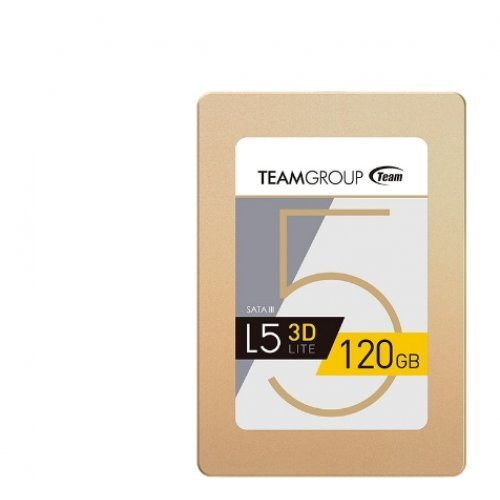"SSD Team Group 120GB, L5 Lite 3D, SATA3, 2.5"" 7mm (снимка 1)"