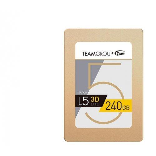 "SSD Team Group 240GB, L5 Lite 3D, SATA3, 2.5"" (снимка 1)"