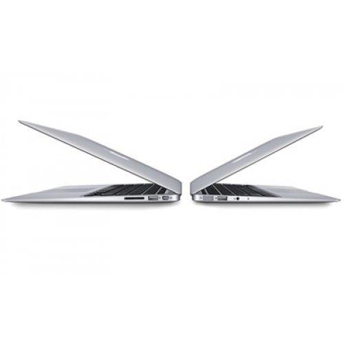 "Лаптоп Apple Macbook Air 13, сребрист, 13.3"" (33.78см.) 1440x900 (WSXGA) лъскав, Процесор Intel Core i5-5350U (2x/4x), Видео Intel HD 6000 Gen 8, 8GB LPDDR3 RAM, 128GB SSD диск, без опт. у-во, MacOS X Sierra ОС (снимка 1)"