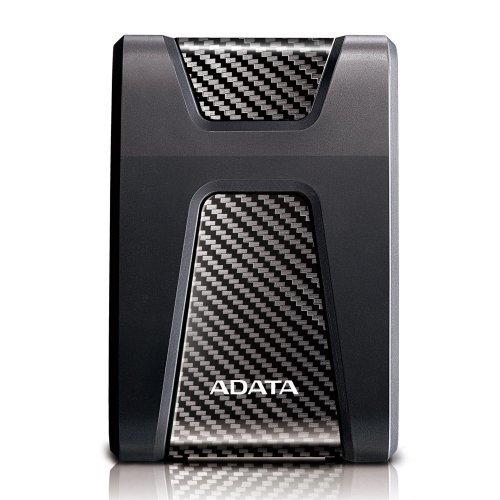 """Външен твърд диск Adata DashDrive Durable HD650, 4TB, 2.5"""", USB3.1, Anti-shock Silicone, Black (снимка 1)"""