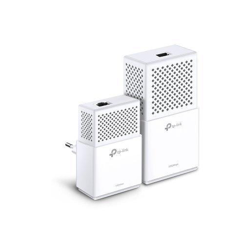 Powerline адаптер TP-Link TL-WPA7510 KIT, AV1000 Gigabit Powerline ac Wi-Fi Kit (снимка 1)