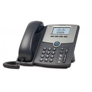 Cisco SPA512G, 1 Line IP Phone with Display, PoE and Gigabit PC Port (снимка 2)