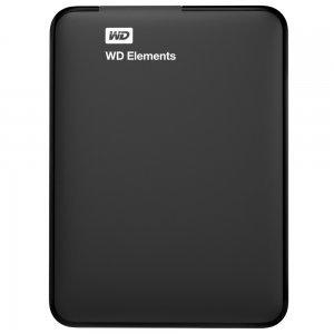"""Western Digital Elements, 500GB, 2.5"""", USB3.0, WDBUZG5000ABK (снимка 1)"""