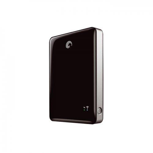 "Seagate Satellite Mobile Wireless Storage, 500GB, 2.5"", USB3.0, Black (снимка 1)"