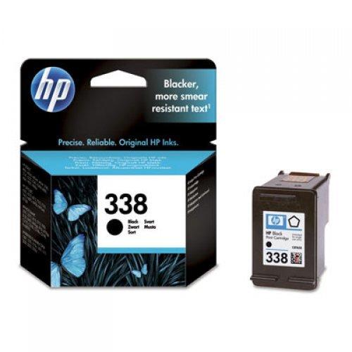 HP 338 Black Inkjet Print Cartridge, C8765EE (снимка 1)