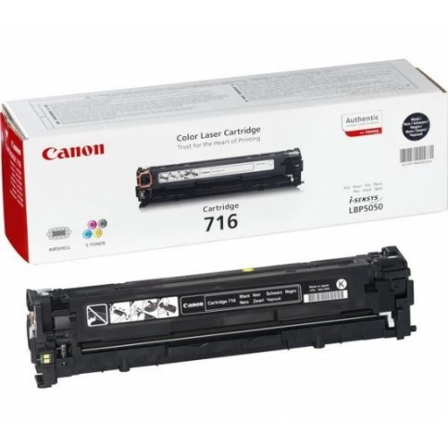 Canon CRG-716B Toner Cartridge for LBP5050, LBP5050n (2300 pgs) (снимка 1)