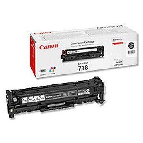 Canon LBP CRG-718, Тонер касета, Цвят: Черен (снимка 1)