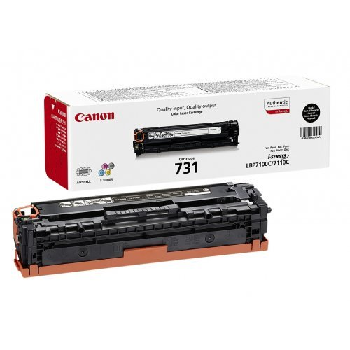 Canon CRG-731, CR6272B002AA, Black (снимка 1)