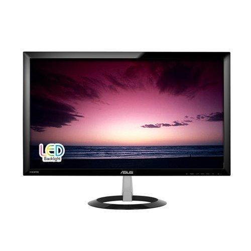 """Монитор Asus 23.0"""" VX238H, LED, 1920x1080, 250 cd/㎡, 80000000:1, 1ms, 170°/160°, Speakers : 1.5W x 2, HDMI x 2, D-Sub, DVI-D, Black (снимка 1)"""