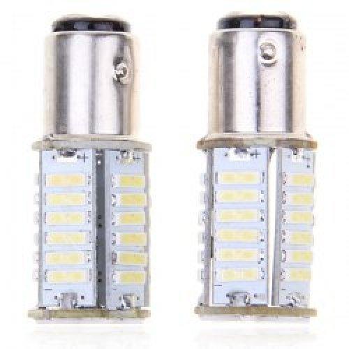 Авто крушка LED 1157 36 x 7014 SMD две светлини . EG0188901. Цена за един брой (снимка 1)