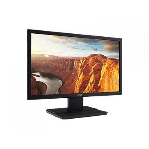 """Монитор Acer 18.5"""" Wide V196HQLAb - UM.XV6EE.A03, TN LED 1366x768, 5 ms, 100M:1 DCR, 200 cd/m2, D-Sub, Black (снимка 1)"""