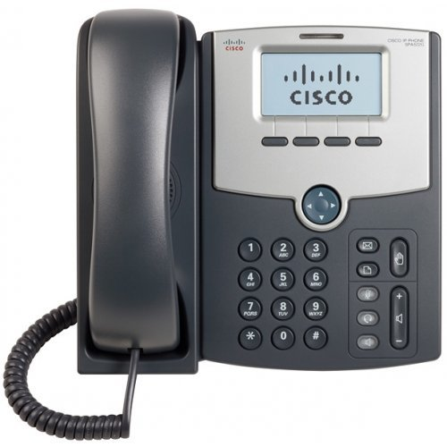 Cisco SPA512G, 1 Line IP Phone with Display, PoE and Gigabit PC Port (снимка 1)