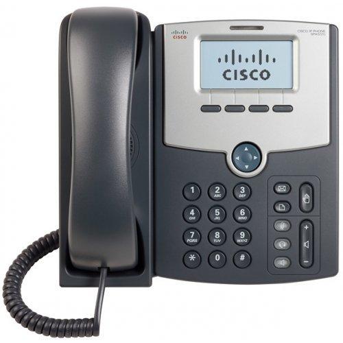 Cisco SPA512G, 1 Line IP Phone with Display, PoE and Gigabit PC Port (снимка 1)