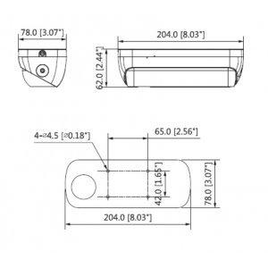 IP камера Dahua IPC-HDW8341X-3D-0360B (снимка 2)