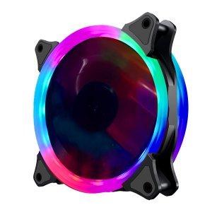 Въздушно охлаждане на процесор Makki Fan 120mm RGB 2 Rings, 6 Pin (снимка 1)