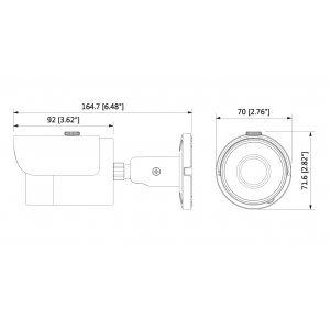 Аналогова камера Dahua HAC-HFW1200S-0360B-S3 (снимка 3)