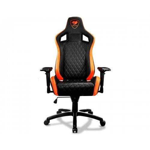 Геймърски стол Cougar Armor S, Black/Orange (снимка 1)