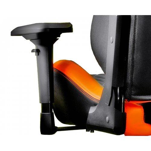 Amazing Geymrski Stol Cougar Armor S Black Orange Andrewgaddart Wooden Chair Designs For Living Room Andrewgaddartcom