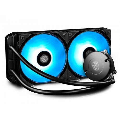 Въздушно охлаждане на процесор DeepCool Maelstrom 240RGB (снимка 1)