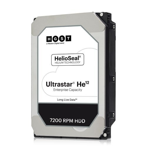 Твърд диск Hitachi 12TB Ultrastar HE12, SATA3, 256MB, 7200rpm (снимка 1)