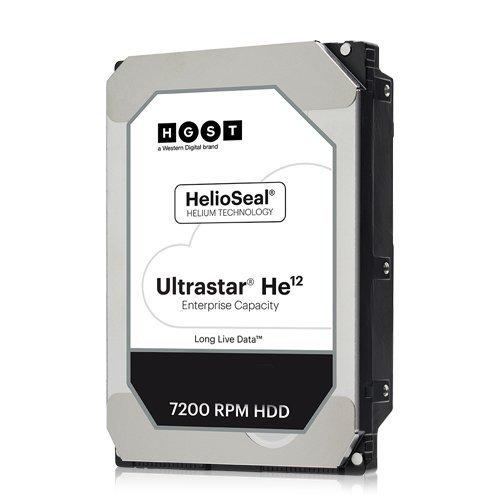 Твърд диск Hitachi 12TB Ultrastar HE12, SATA3, 256MB, 7200rpm (снимка 1)