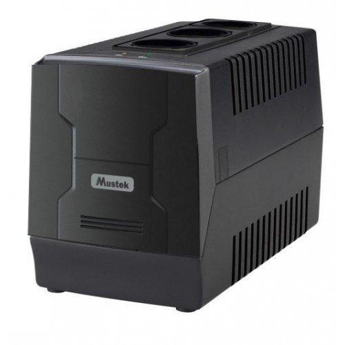stabilizatori Mustek PowerMate 1000VA AVR, Schuko (снимка 1)