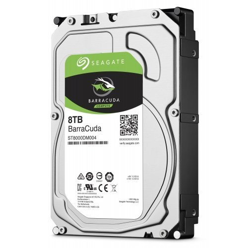 Твърд диск Seagate 8TB BarraCuda ST8000DM004, 2 год. гаран-я, SATA3 256MB 5400rpm (снимка 1)