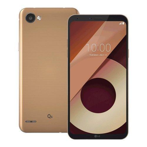 Смартфон LG Q6, Black/Gold (снимка 1)